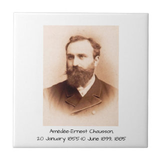 Amedee-Ernest Chausson Tile