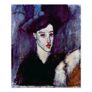 Amedeo Modigliani - The Jewess Poster