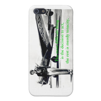 Amelia Earhart iPhone4 case iPhone 5 Cover