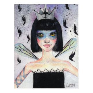 Amelie the faerie postcard