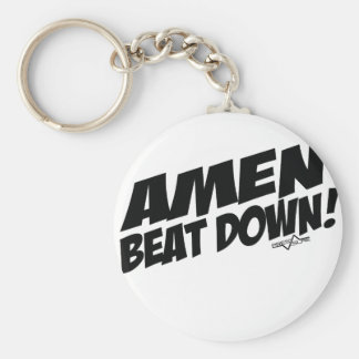 AMEN Beatdown Key Ring