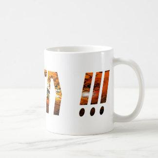 Amen Effet Braise Classic White Coffee Mug