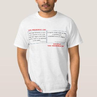 Amendment One T Shirt