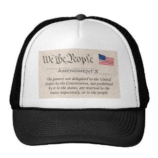 Amendment X Cap
