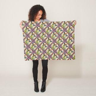 Ameraucana Family Framed Fleece Blanket