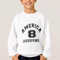 America 08 Superpower Birthday Designs