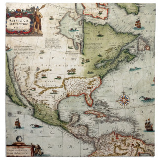 America 1610 napkin