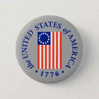 AMERICA 1776 BUTTON