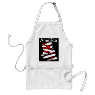 America 4th of July Celebrations Patriotic Designs Apron
