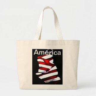 America 4th of July Celebrations Patriotic Designs Tote Bag