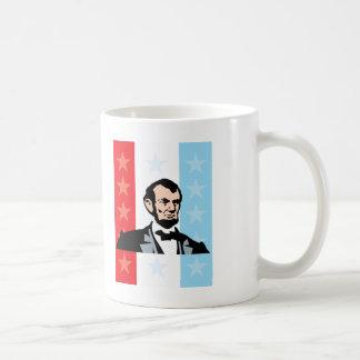 America - Abraham Lincoln President United States Basic White Mug