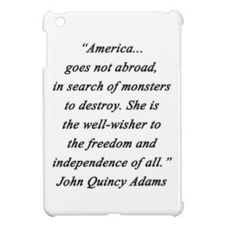 America Abroad - John Q Adams iPad Mini Covers