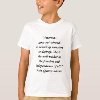 America Abroad - John Q Adams T-Shirt