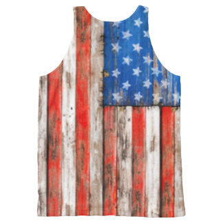America All-Over Print Tank Top