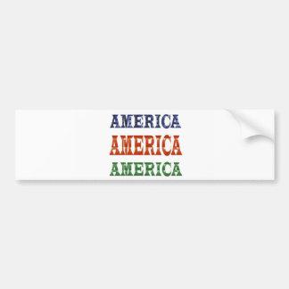 America American USA VALUE Artistic Base LOWPRICE Bumper Sticker