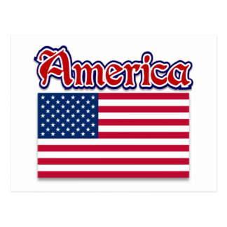 America Apparel and American Pride Gifts Postcard