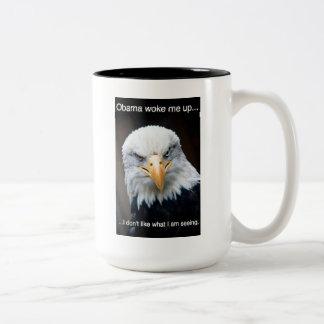 America Awake Two-Tone Mug