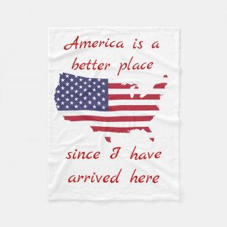 America baby blankets