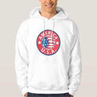 America Baseball USA Hoodie