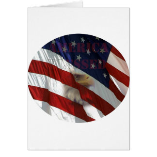 America Blessed Greeting Cards