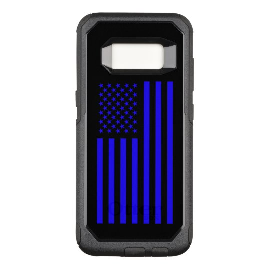 America Blue OtterBox Commuter Samsung Galaxy S8 Case