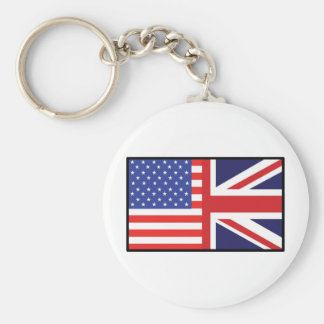 America Britain Key Chain