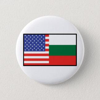 America Bulgaria 6 Cm Round Badge