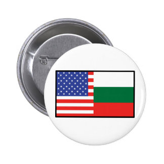 America Bulgaria 6 Cm Round Badge
