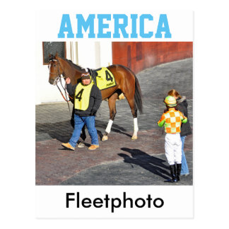America by AP Indy Postcard