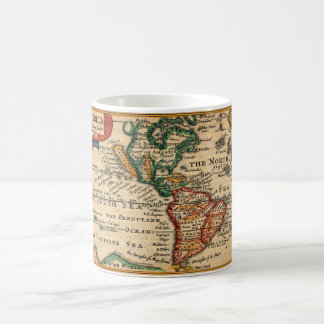 America & California 1646 Coffee Mug