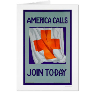 America Calls - Join Today (US00053) Greeting Card