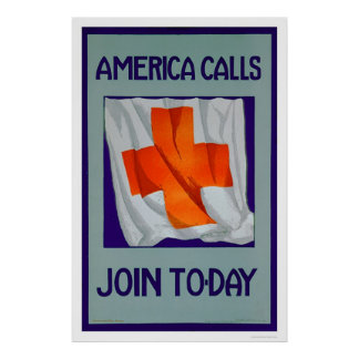 America Calls - Join Today (US00053) Poster