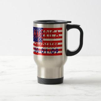 AMERICA Celebrates Barack Obama Pesidency Mug