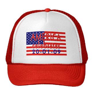 AMERICA Celebrates Barack Obama Presidency Mesh Hat