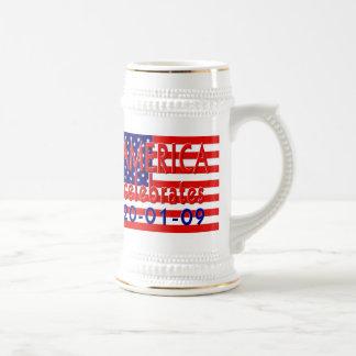 AMERICA Celebrates Barack Obama Presidency Mugs