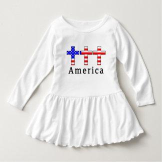 America Christianity! TODDLER DRESS! Dress