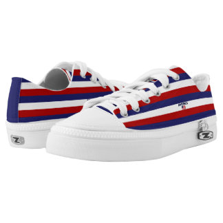 America Colors Flag Designer Modern Shoes Men Lady