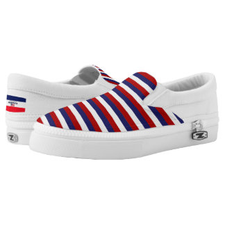 America Colors Flag Designer Modern Shoes Trend