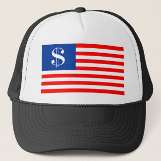 america country dollar symbol flag united states u trucker hat