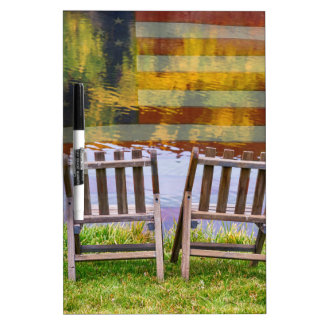 America Day Dreaming For Two Dry Erase Board