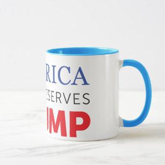 America Deserves Trump - Excellence Mug