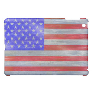 America distressed American USA flag Case For The iPad Mini