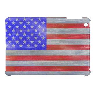 America distressed American USA flag iPad Mini Cover