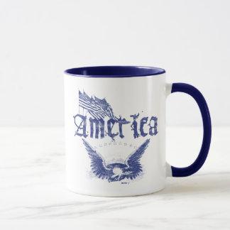 America Eagle 1 Blu Mug