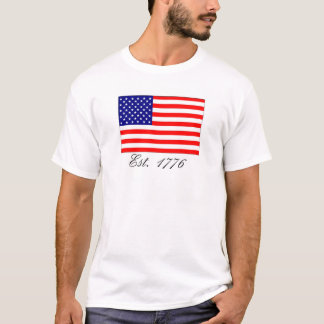 America, Est. 1776 T-Shirt