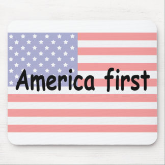 America First Mouse Pad