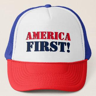 America First Trucker Hat