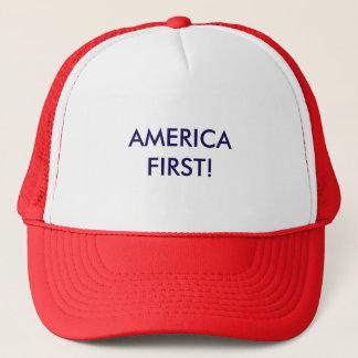 America First! Trucker Hat