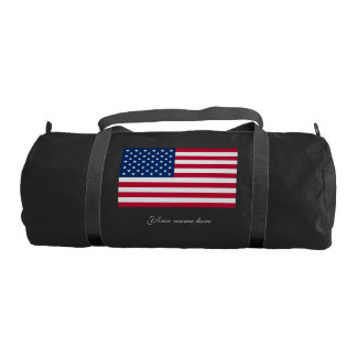 America flag American USA Gym Bag