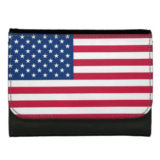 America flag American USA Women's Wallets